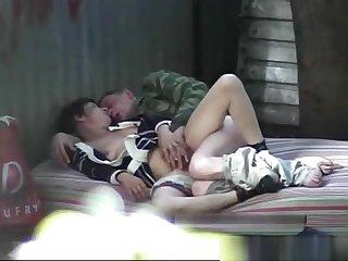 Russian sex open-air