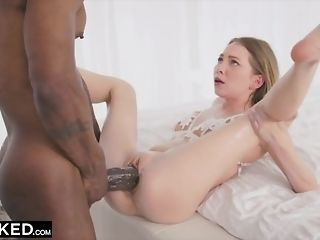 BLACKED diminutive light-haired with the fattest big black cock in the world sextube