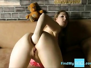 German girl fist ass webcam