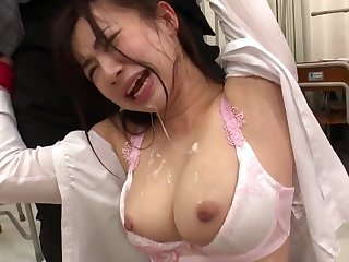 Hot asian babe Manami Oura - hard think the world of