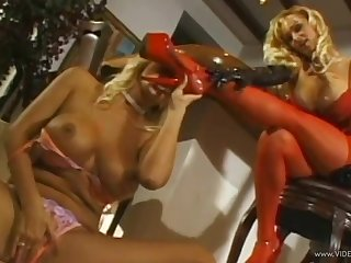 Kinky big teat lesbians cannot get fair to middling be fitting of each change off