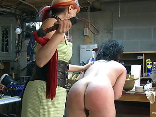 Dirty video of BDSM publicize sex with a slave plus her dominant versed