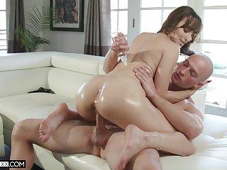 MILF sucks the dick lifeless then puts it in her vagina