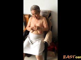 Asian 80+ Granny Repression bath