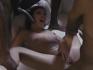 Becoming holidays as A an IR gangbang with squirting