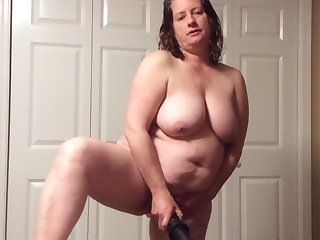 BBW female parent with hairy pussy more panties increased by BBC fantasy