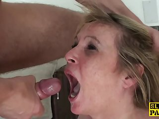 Humiliated Granny Submits anent Maledom
