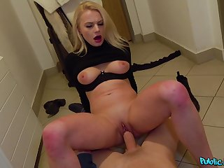 Never ending hard sex for crown with a Russian blonde