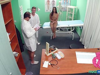 A naked remedial exam leads to exploitative fucking be fitting of Mea Melone