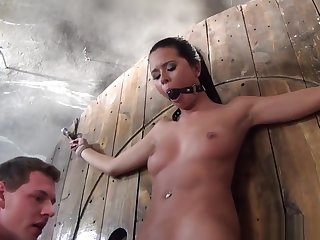 Tiedup Slave Pussylicked By Dom Before Toyed
