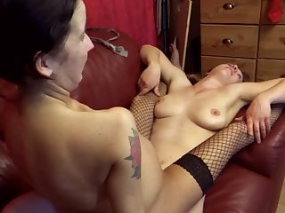 Busty & Titless Dirty Sluts Party