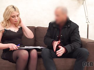 Lustful blondie fro chesty booty Maria Hurricane gets fucked for pervade