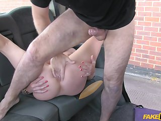 Energized scenes of sex with a MILF on her way to decree