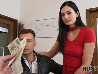 Ladies' picks apropos naughty young lady and lets her BF watch him fucking her
