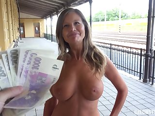 Big jugs Denisa Public Pickups