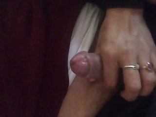 Just ordinary handjob routine provided by lusty nympho