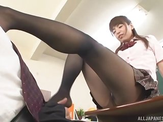 Layman video of a lucky guy having sex with a kinky Asian tutor