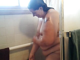 This BBW slut loves to clean-cut in front be beneficial to the camera