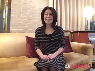 Hairy Japanese Granny - Erotic Hard Thing embrace - JapanLust
