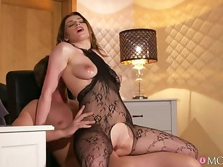 Surprise Office Sexual intercourse with Horny Wife